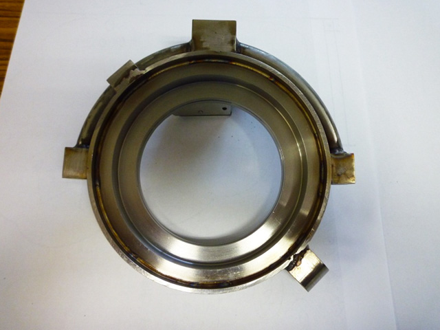 ガラス生産ライン部品の製作